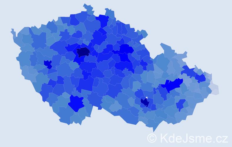 Jméno: 'Hana', počet výskytů 146682 v celé ČR