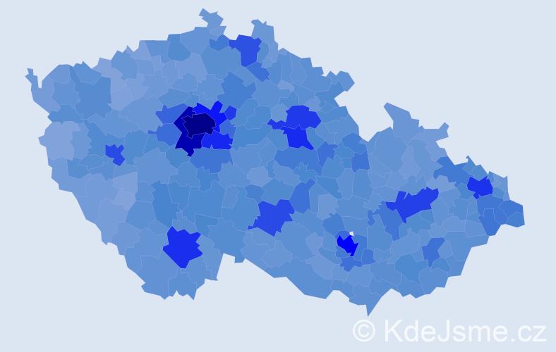 Jméno: 'Filip', počet výskytů 50464 v celé ČR