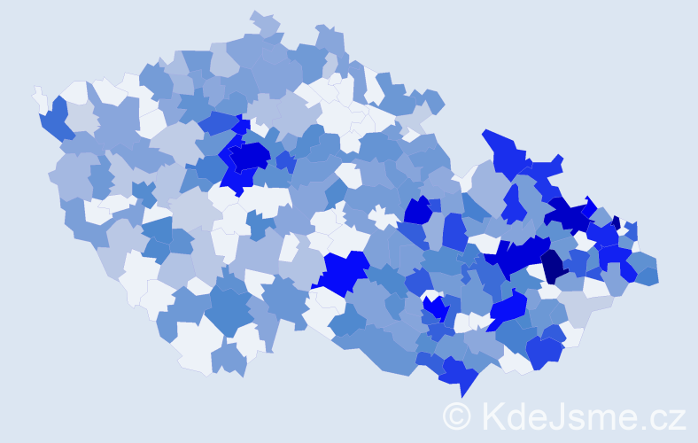 Jméno: 'Zoe', počet výskytů 600 v celé ČR