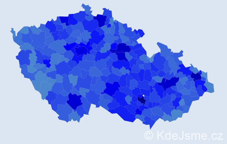 Jméno: 'Lenka', počet výskytů 118763 v celé ČR