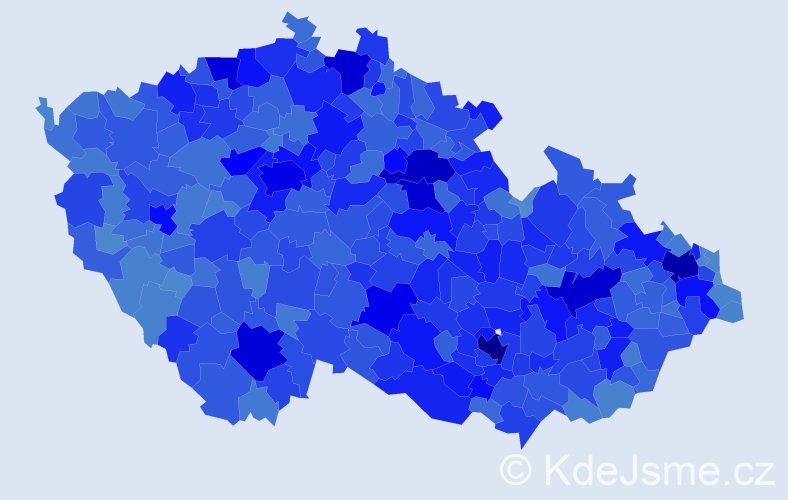 Jméno: 'Lenka', počet výskytů 118877 v celé ČR