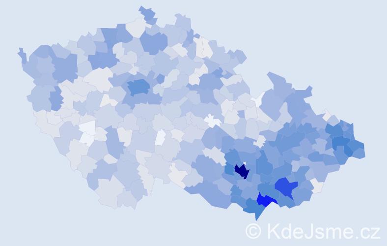 Jméno: 'Igor', počet výskytů 3981 v celé ČR