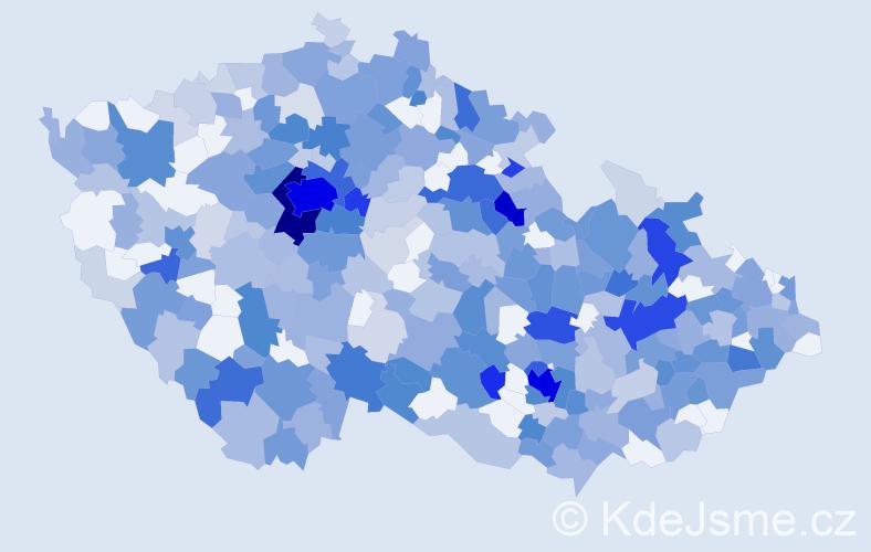 Jméno: 'Berenika', počet výskytů 896 v celé ČR