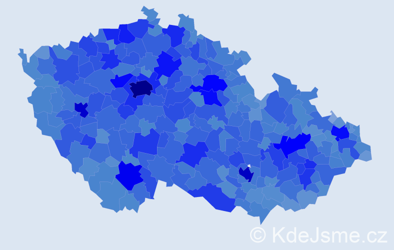 Jméno: 'Alena', počet výskytů 106503 v celé ČR
