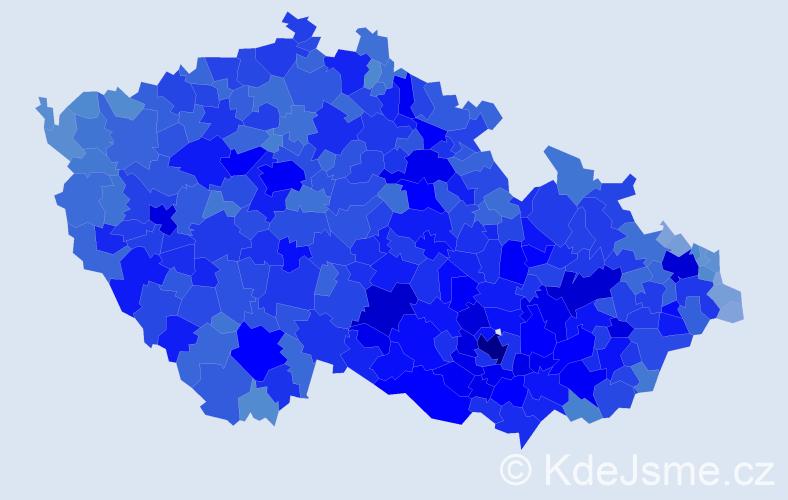 Jméno: 'Zdeněk', počet výskytů 128012 v celé ČR