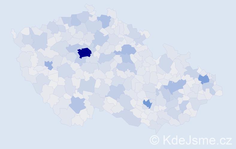 Jméno: 'Věra', počet výskytů 107388 v celé ČR