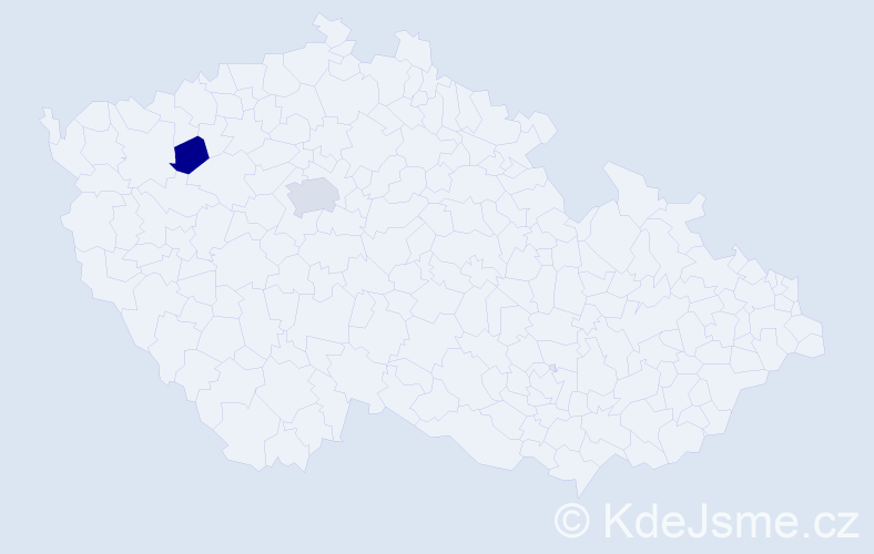 Jméno: 'Borys', počet výskytů 3 v celé ČR