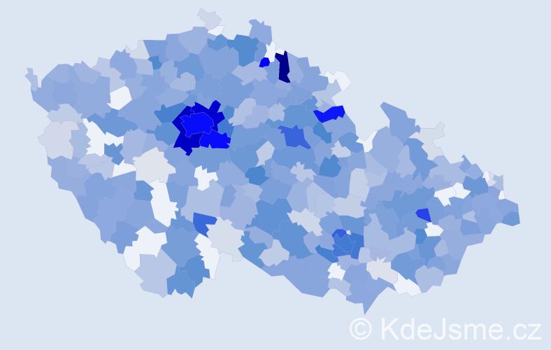 Jméno: 'Ela', počet výskytů 1097 v celé ČR
