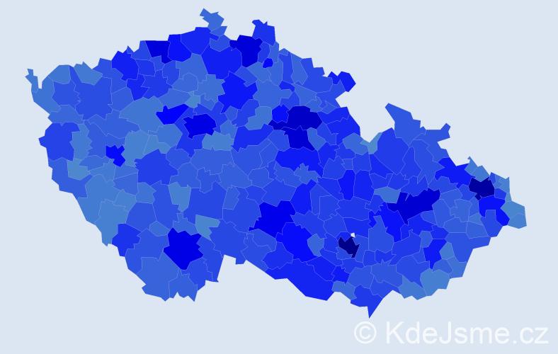 Jméno: 'Lenka', počet výskytů 119481 v celé ČR