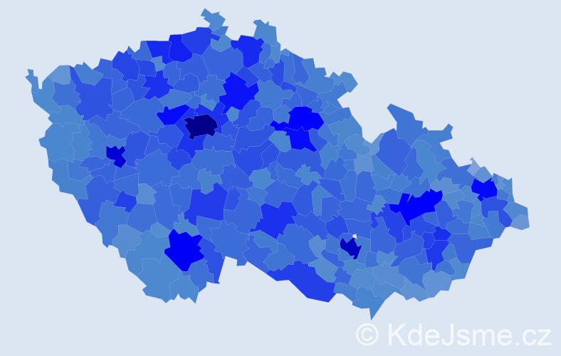 Jméno: 'Alena', počet výskytů 107073 v celé ČR