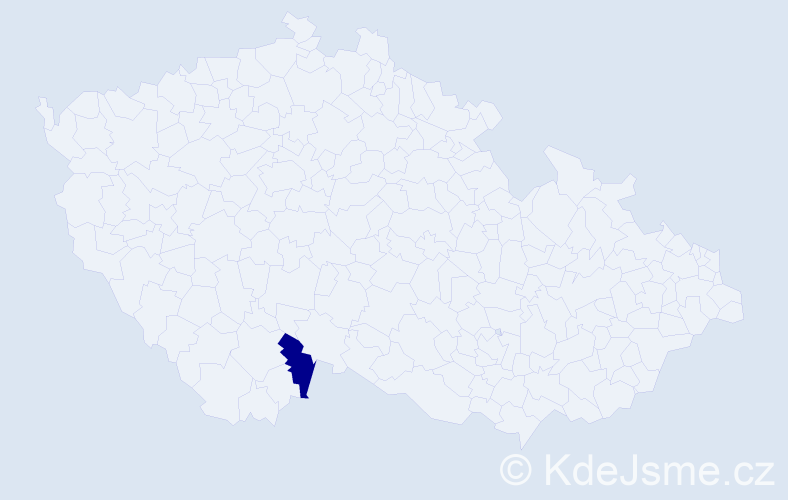 Jméno: 'Štěpán Angus', počet výskytů 1 v celé ČR