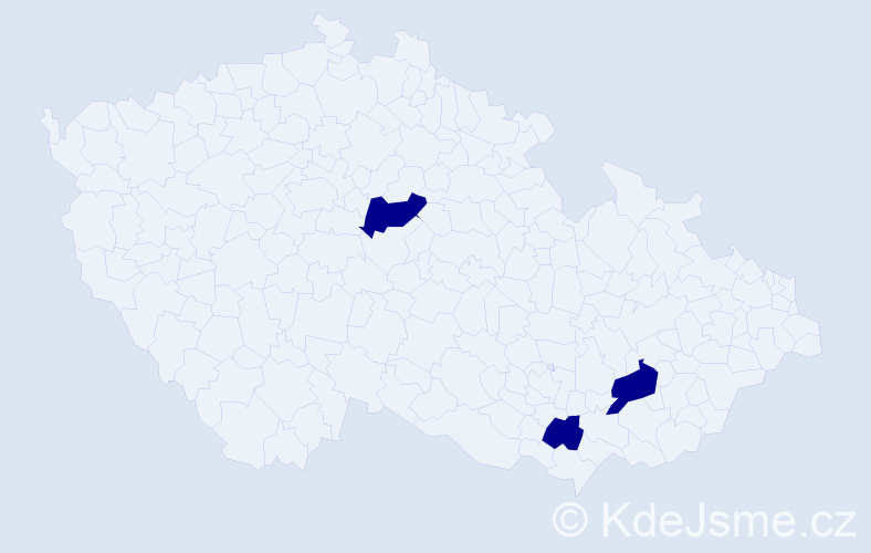 Jméno: 'Ghenadie', počet výskytů 3 v celé ČR