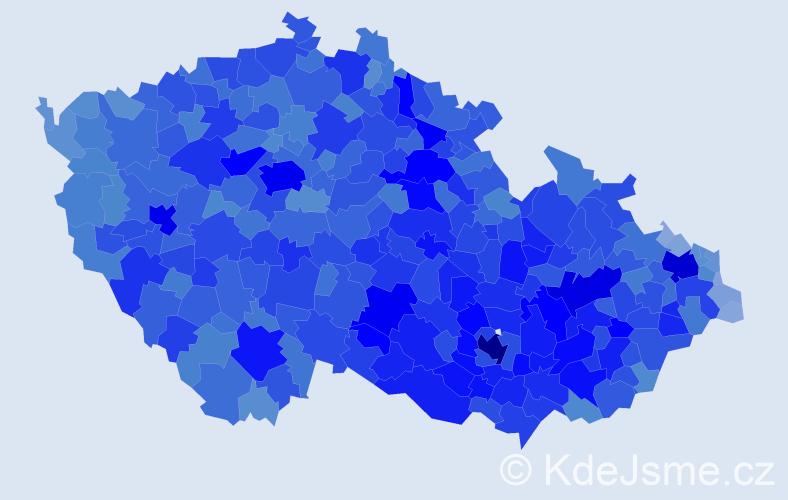 Jméno: 'Zdeněk', počet výskytů 139603 v celé ČR