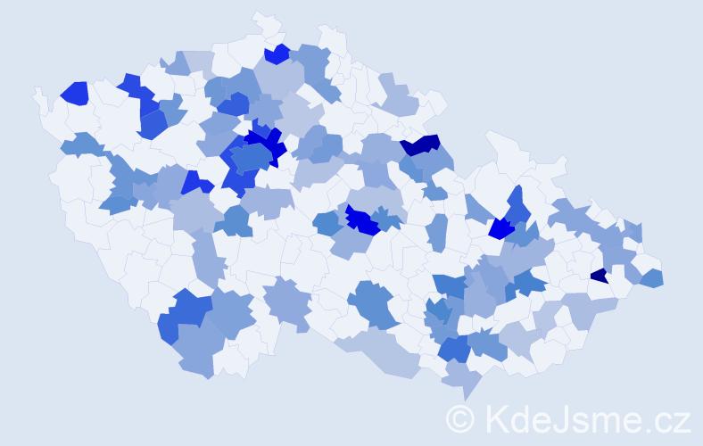Jméno: 'Lily', počet výskytů 178 v celé ČR