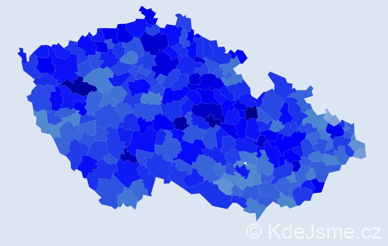 Jméno: 'Ladislav', počet výskytů 69797 v celé ČR
