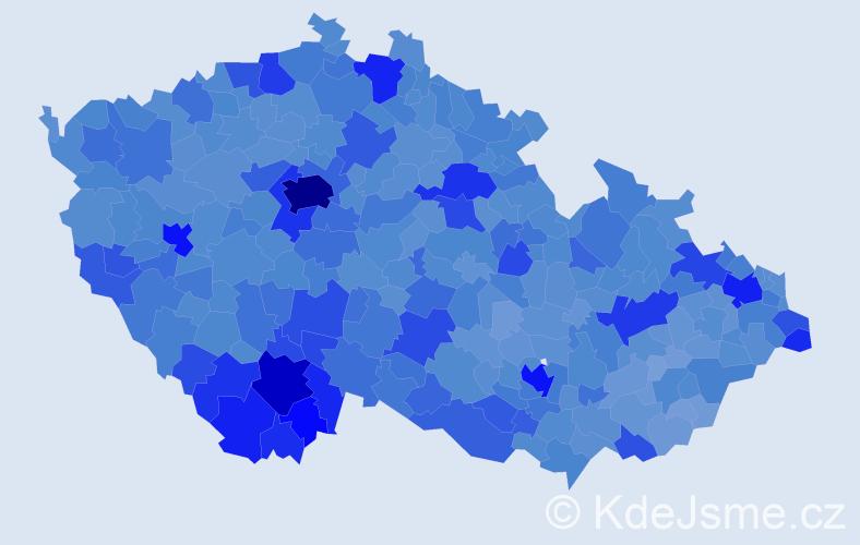 Jméno: 'Jan', počet výskytů 295977 v celé ČR
