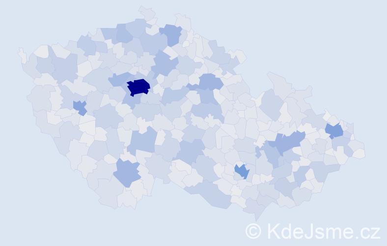 Jméno: 'Jaroslav', počet výskytů 172785 v celé ČR