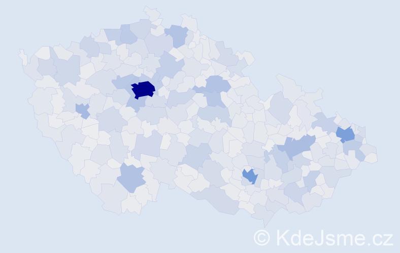 Jméno: 'Martin', počet výskytů 186404 v celé ČR