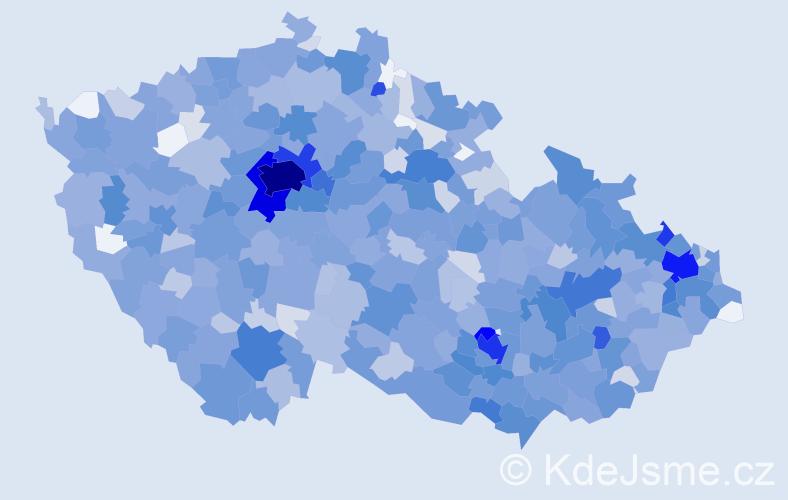 Jméno: 'Sofie', počet výskytů 2584 v celé ČR