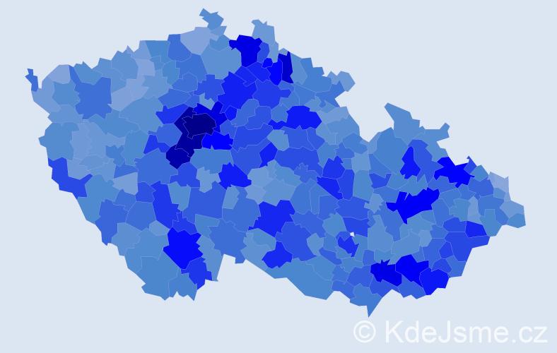 Jméno: 'Štěpán', počet výskytů 24148 v celé ČR