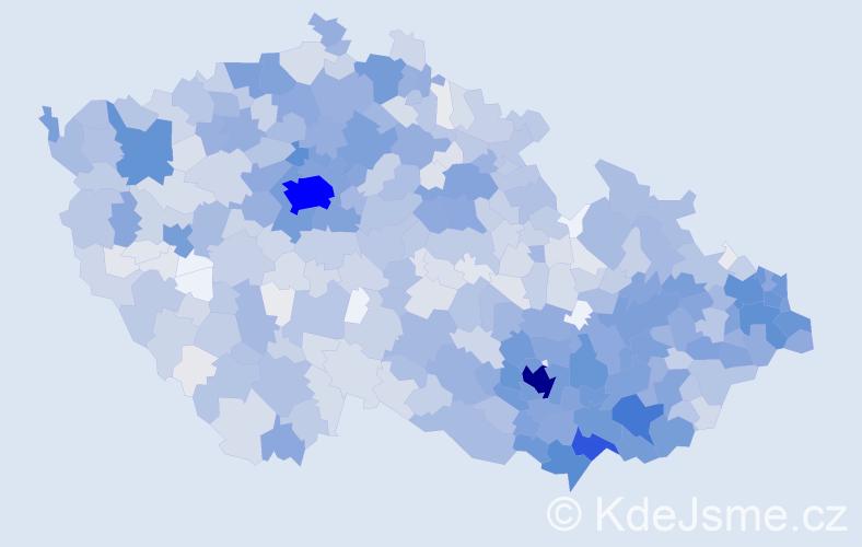 Jméno: 'Igor', počet výskytů 6195 v celé ČR