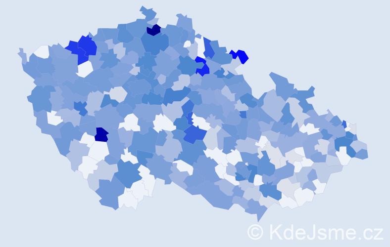 Jméno: 'Leontýna', počet výskytů 741 v celé ČR