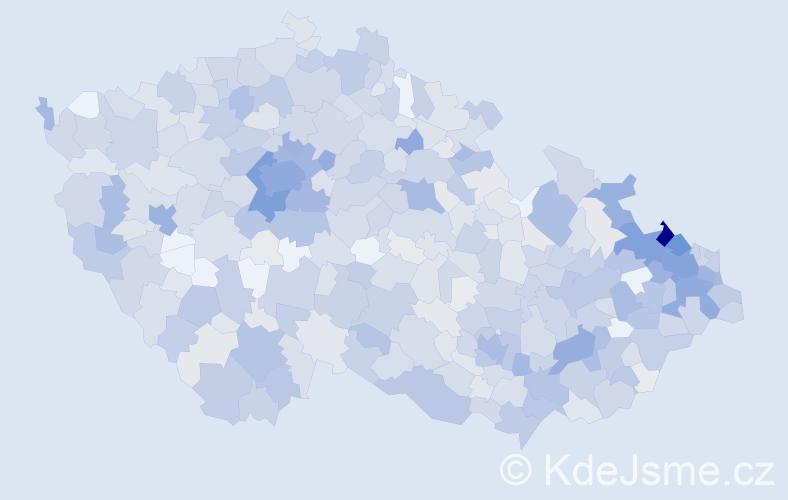 Jméno: 'Maxmilián', počet výskytů 2268 v celé ČR