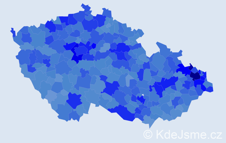 Jméno: 'Natálie', počet výskytů 33761 v celé ČR