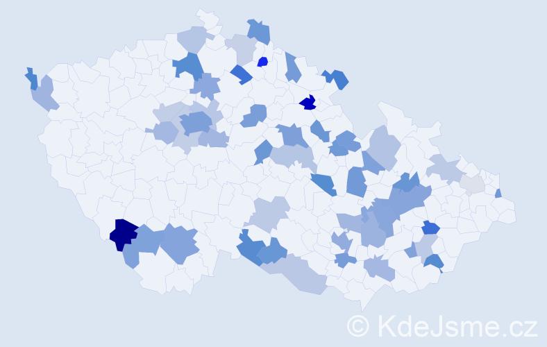 Jméno: 'Lota', počet výskytů 86 v celé ČR