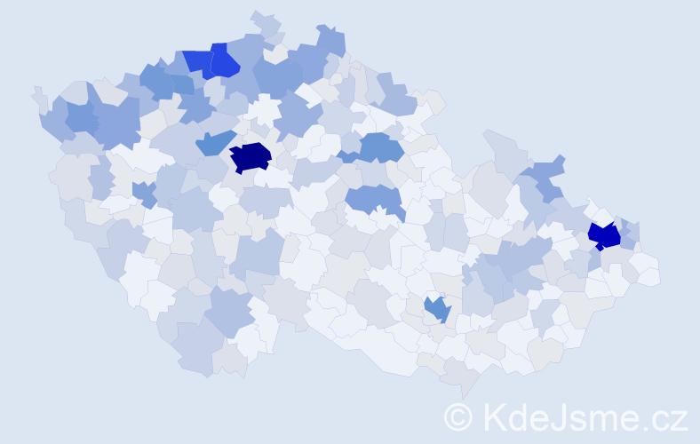 Jméno: 'Gejza', počet výskytů 681 v celé ČR