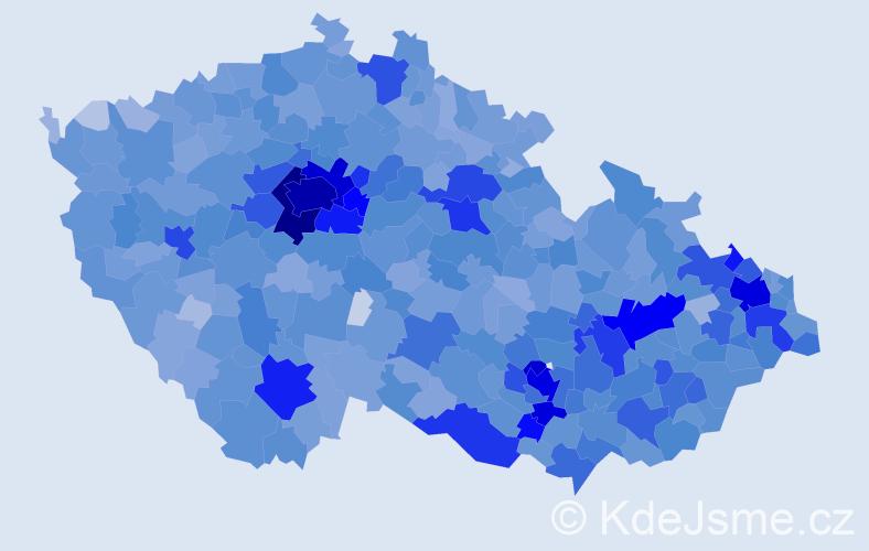 Jméno: 'Sofie', počet výskytů 10388 v celé ČR