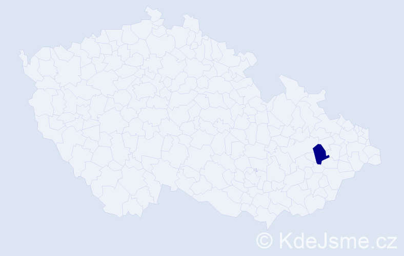Jméno: 'Fillip Mark', počet výskytů 1 v celé ČR