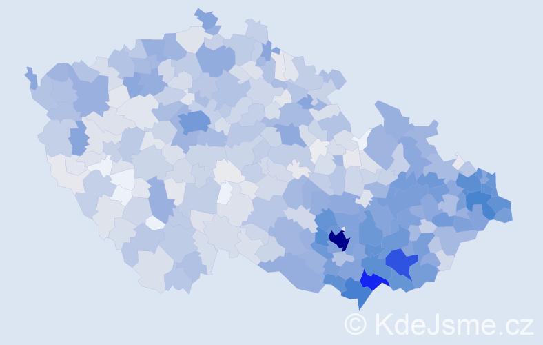 Jméno: 'Igor', počet výskytů 3898 v celé ČR