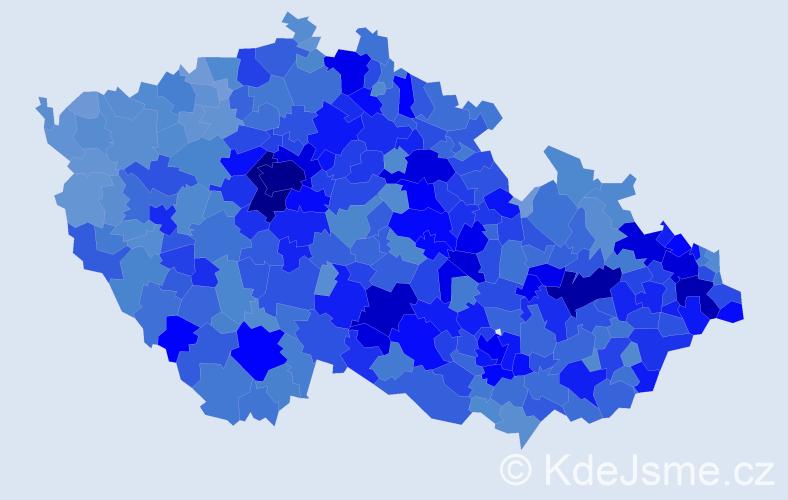 Jméno: 'Vojtěch', počet výskytů 52802 v celé ČR