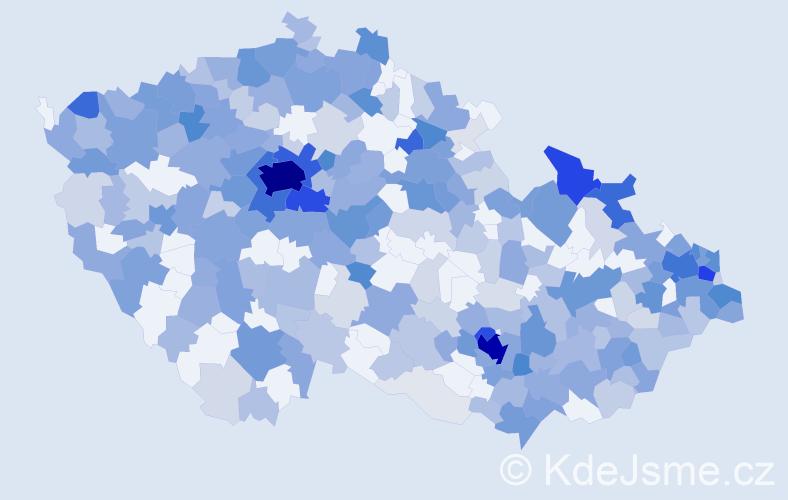 Jméno: 'Sofia', počet výskytů 1004 v celé ČR