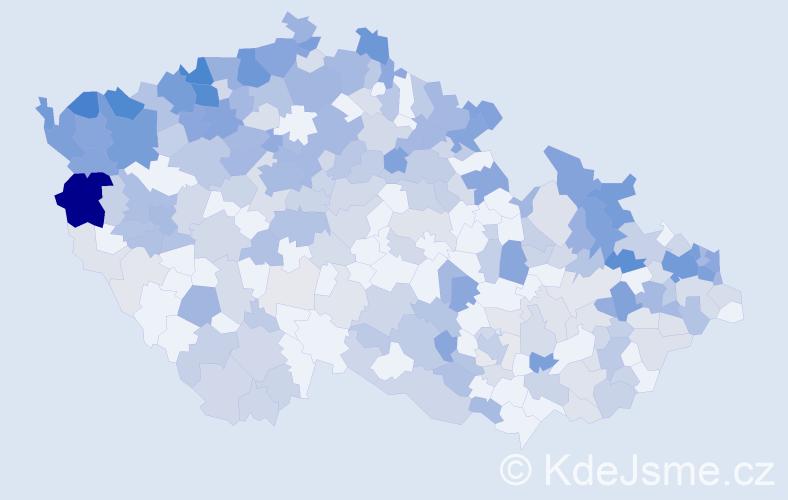 Jméno: 'Vasil', počet výskytů 742 v celé ČR