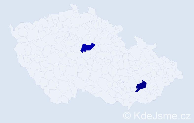 Jméno: 'Ghenadie', počet výskytů 2 v celé ČR