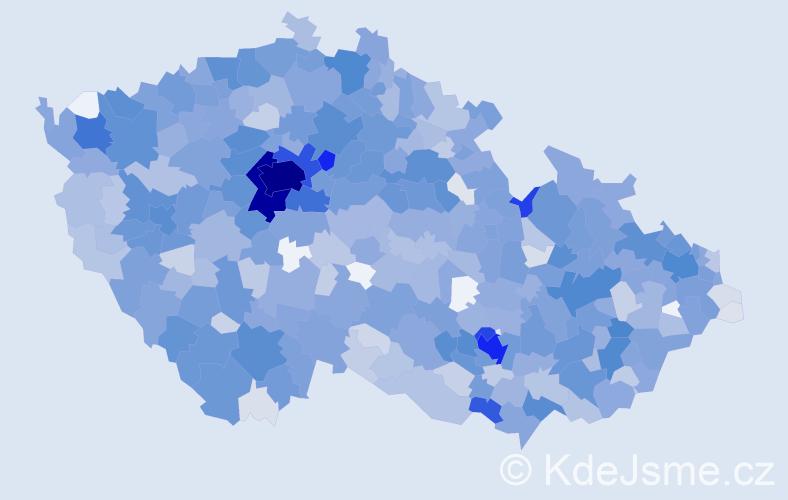 Jméno: 'Emma', počet výskytů 3251 v celé ČR