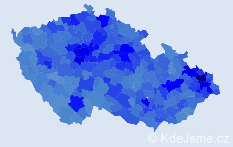 Jméno: 'Lukáš', počet výskytů 102982 v celé ČR