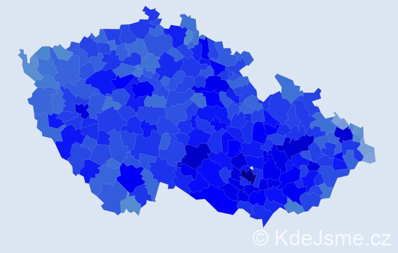 Jméno: 'Zdeněk', počet výskytů 126094 v celé ČR