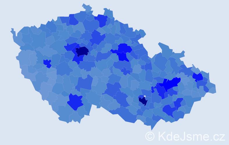 Jméno: 'Michal', počet výskytů 119626 v celé ČR