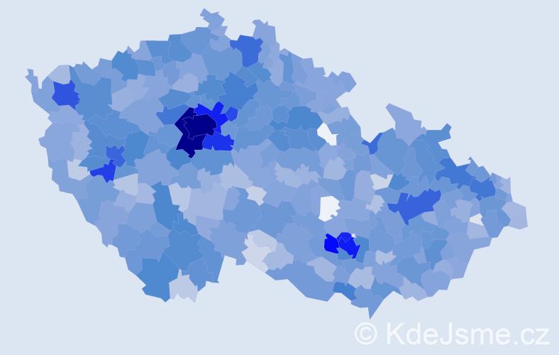 Jméno: 'Emma', počet výskytů 5108 v celé ČR