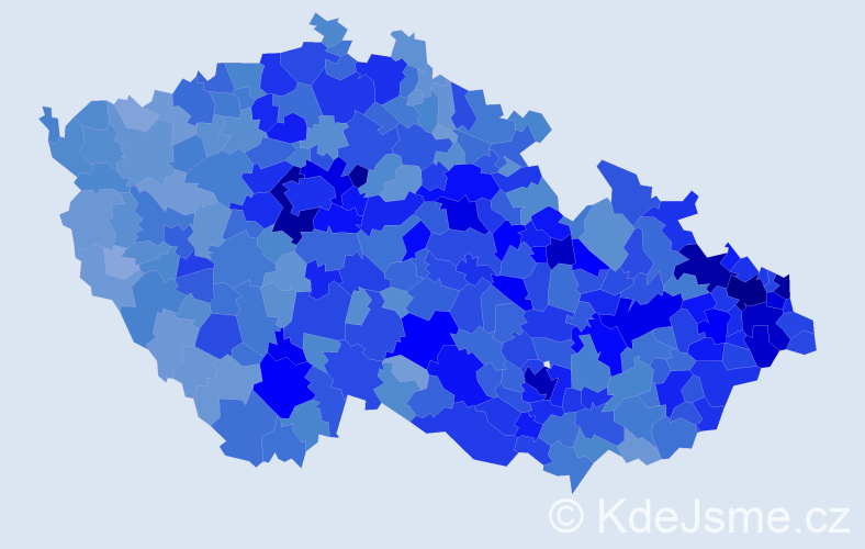 Jméno: 'Nela', počet výskytů 18242 v celé ČR
