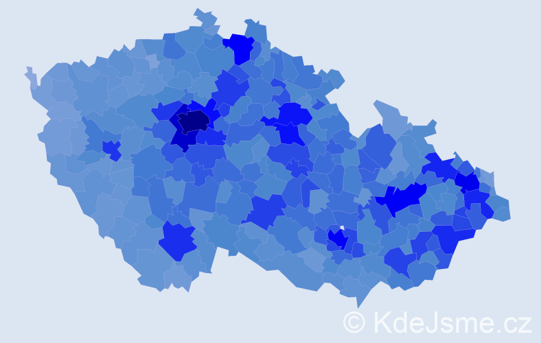 Jméno: 'Ondřej', počet výskytů 76225 v celé ČR