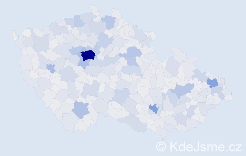 Jméno: 'Tereza', počet výskytů 83692 v celé ČR