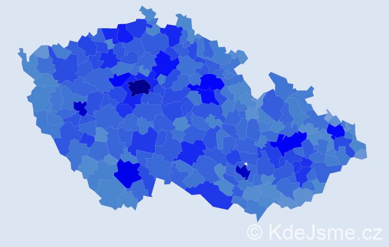 Jméno: 'Alena', počet výskytů 105093 v celé ČR