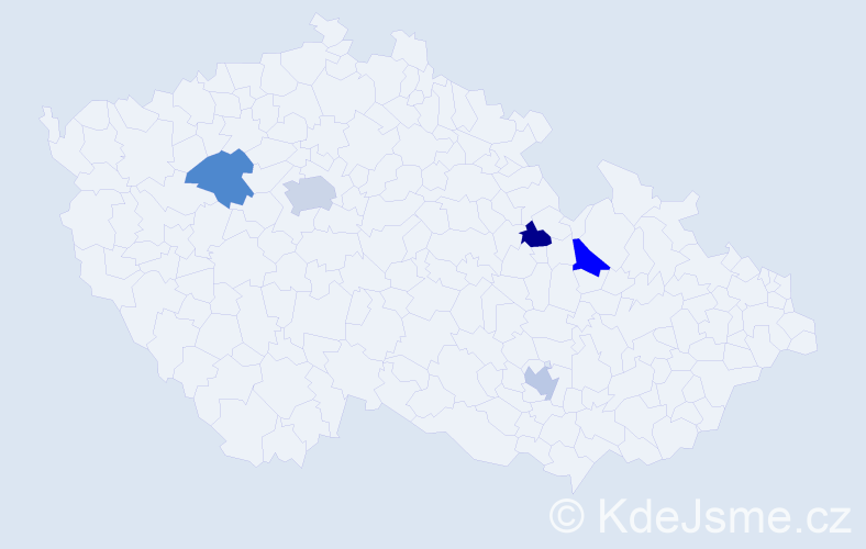 Jméno: 'Šimon Martin', počet výskytů 6 v celé ČR