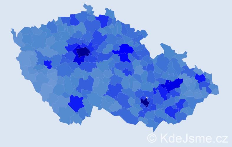 Jméno: 'Michal', počet výskytů 122082 v celé ČR