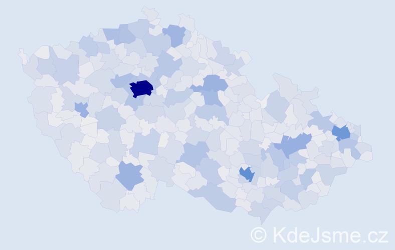 Jméno: 'Lenka', počet výskytů 118881 v celé ČR