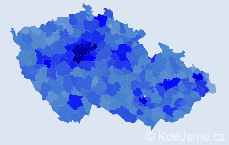 Jméno: 'Kristýna', počet výskytů 51422 v celé ČR